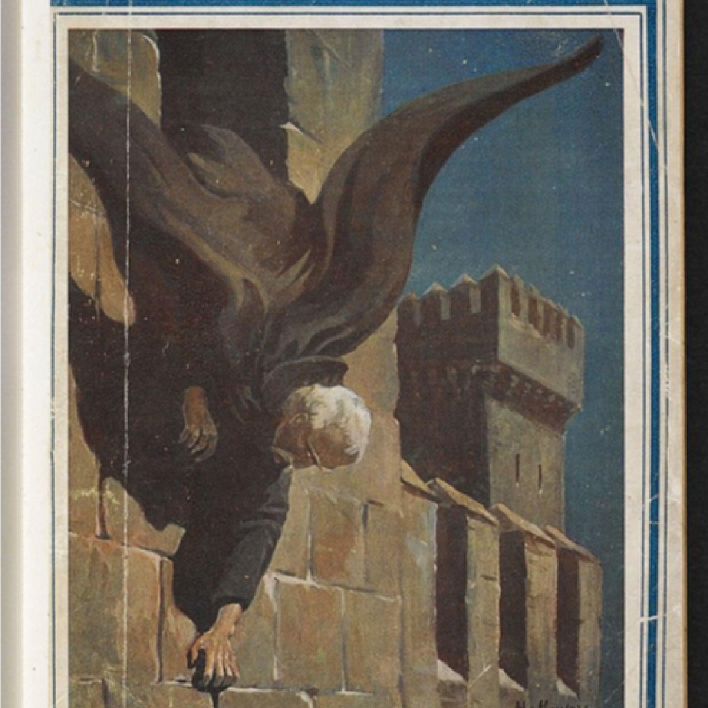 Front cover of the 1919 Dracula edition (source: Wikimedia Commons)